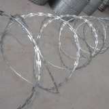 電流を通された有刺鉄線/PVCの上塗を施してある有刺鉄線