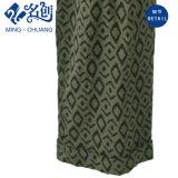 Patrón verde flojo de goma-Plancha-pantalones Cinturón señoras de la manera