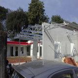 Tolietのプレハブの鉄骨構造の小型研修会