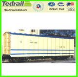 De Behandelde Wagens van de spoorweg zwaar-Lading met Verschillende Soorten