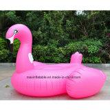 Aufblasbarer Flamingo für Schwimmen riesigen Belüftung-Pool-Gleitbetrieb