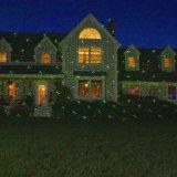 Laser ao ar livre do chuveiro das luzes de Natal da estrela do laser
