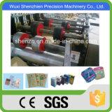 Hoja de alimentación de papel de cemento tubo de bolsa que hace la máquina