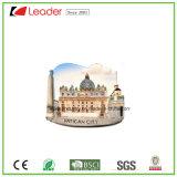 Покрашенные рукой магниты холодильника сувенира Polyresin декоративные с зданиями