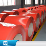 Il rivestimento d'acciaio di colore delle bobine di PPGI ha galvanizzato la bobina d'acciaio del cappotto dello zinco tagliata alla lamiera di acciaio di lunghezza