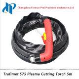 Tocha de estaca portátil 5m do plasma de Trafimet S75 com conetor central