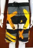 Beachwear do Swimwear das cuecas do Short da ressaca da cópia do poliéster para homens/mulheres