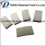 O granito circular das ferramentas de pedra do diamante viu a estaca do mármore do segmento da lâmina