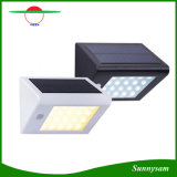 20 LED 350lm Energía Solar PIR Sensor Jardín Jardín Luz de pared Super brillante IP65 impermeable Seguridad Lámpara