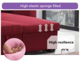 Base do sofá do projeto da dobradura de Moder com a caixa ajustada de Inclued Storge do sofá da tela