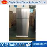 Le gel domestique de double porte de réfrigérateur d'acier inoxydable libèrent des réfrigérateurs
