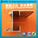 صنع وفقا لطلب الزّبون 6063 ألومنيوم قطاع جانبيّ لأنّ نافذة باب مع يؤنود برونزيّ مسحوق طبقة