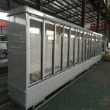 Verwendete Nacjbarschaftsladen-Geräten-Glastür-Kühlraum-Zwischenlage-Bildschirmanzeige-Kühlvorrichtung