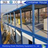 Camera modulare del contenitore fatta del telaio d'acciaio e del comitato di parete del panino per la vita umana