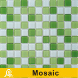 Mosaico de cristal da grama da cor quente da venda 4mm para a série do painel da cor da piscina (cor P04/P05/P06)