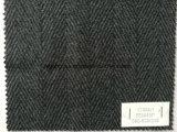 Шевронная шерстяная сплетенная ткань