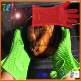 Перчатка BBQ Mitten печи силикона качества еды варя перчатку