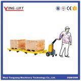 小型電気牽引のトラクター
