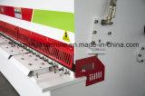 Machine de découpage d'acier inoxydable de longueur de Jsd QC12y 3m