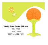 La fruta suave del silicón mastica los juguetes de la dentición para los niños y los niños, Massager de la goma del bebé