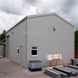 Projets de construction en acier d'atelier de construction légère en métal