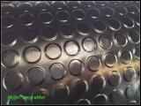 Strato di gomma antiscorrimento, stuoia rotonda densa della gomma del tasto
