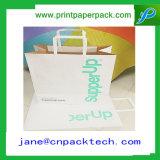 Saco cosmético do papel de embalagem do saco do saco de compra do saco do presente do portador