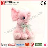 귀여운 연약한 장난감 소녀를 위한 작은 분홍색 코끼리