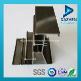 Profil en aluminium en aluminium pour la porte de guichet avec des couleurs anodisées de couche de poudre