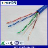 Plattfisch-Prüfung UTP Cat5e/CAT6 kupfernes LAN-Kabel vom China-Kabel-Hersteller
