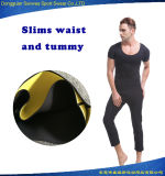 Homens Neoprene Ultra Sweat Tops e Calças Bodysuit Hot Shapers