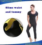 O ajustador da cintura do neopreno dos homens suou ultra partes superiores Sweatsuit