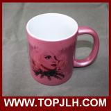 Tazza di ceramica di vendita calda di Madreperlaceo-Lustro di sublimazione