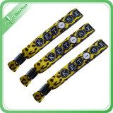 Gute Qualitätskundenspezifischer JacquardwebstuhlWristband für förderndes Geschenk