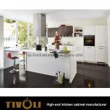 アパートのプロジェクト(AP116)のための予め組み立てられたMDFの台所家具