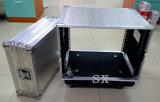 Tipo de aluminio caja de la madera contrachapada del estante con el espacio 8u