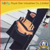 Frauen-Handtaschen-Form-Handtaschen für Damen einfache PU-lederne Schulter-Beutel