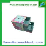 Хранения коробки ящика способа коробка подарка двойного упаковывая бумажная