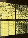Mosaico del espejo del diamante del azulejo de mosaico del oro (HD070)