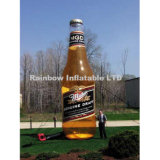 Aufblasbare Kolabaum-Getränk-Flasche, aufblasbares Replik-Modell, Inflatabl Bekanntmachen
