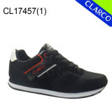 Hommes Sports Sneaker Chaussures avec PU Leather Upper