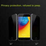 Volldeckung Anti-Spion Privatleben-schützender ausgeglichenes Glas-Bildschirm-Schoner der Telefon-Zubehör-3D für iPhone 7