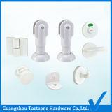 卸し売り浴室のキュービクルのハードウェアの洗面所の白いプラスチック区分セット