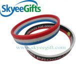 Neue heiße Förderung-Form-kühle SilikonWristbands