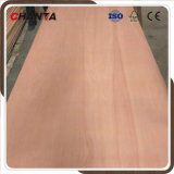 madera contrachapada 16m m roja del cedro de lápiz de la base de Combi de la chapa de la cara de la madera dura de 18m m para el mercado del Reino Unido
