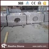 Китайские краснокоричневые Countertops гранита G648 для тщеты кухни и ванной комнаты