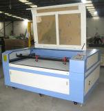CNC Machine van de Gravure van de Laser de Scherpe met Dubbele Hoofden