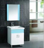 Weiße PVC-Badezimmer-Eitelkeit (YQP-1028)