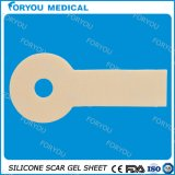Cicatriz de cobertura do silicone para a limpeza médica