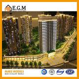 De architecturale Modellen van de Schaal van Modellen Model/Architecturale van de Gebouwen/het Architecturale Model Maken van de WoonModellen van de Tentoonstelling van Flats/Aangepast Mod.